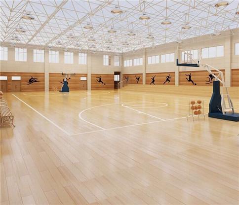 室内运动场木地板