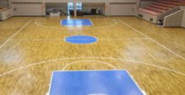 室内木地板篮球场价格