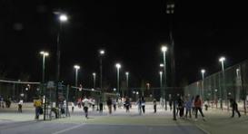篮球场灯光杆批发