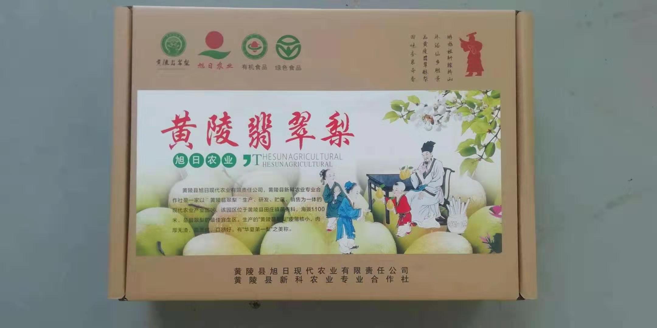黄陵翡翠梨