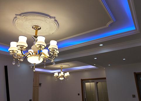 客厅吊灯装饰2