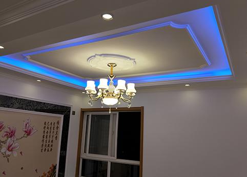 客厅吊灯装饰3