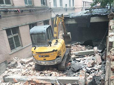 保定河北建筑物拆除工程