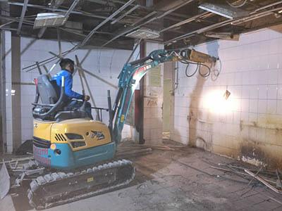 钢结构拆除施工