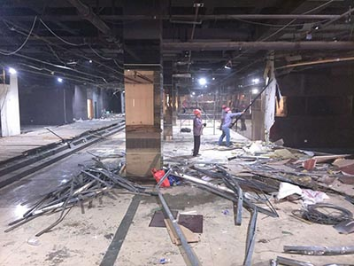 唐山钢结构拆除工程