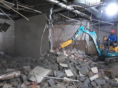 建筑物拆除施工