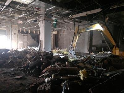 建筑物拆除施工工程