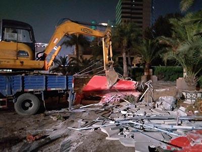 廊坊正定建筑物拆除