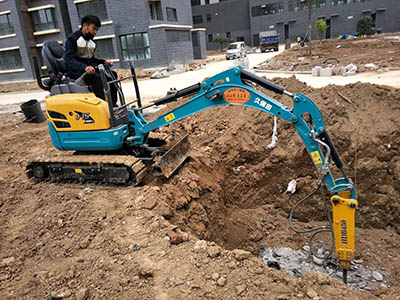 微型机械拆除施工