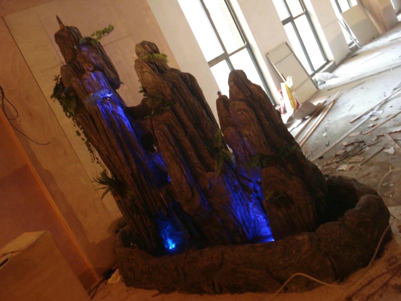 假山假树制作