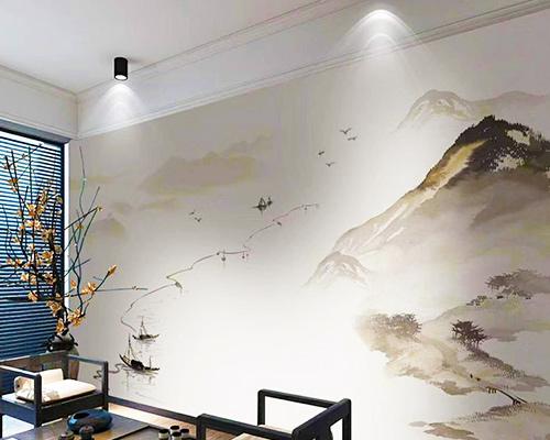 哈尔滨贴壁画