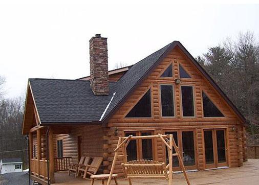防腐木景观木屋