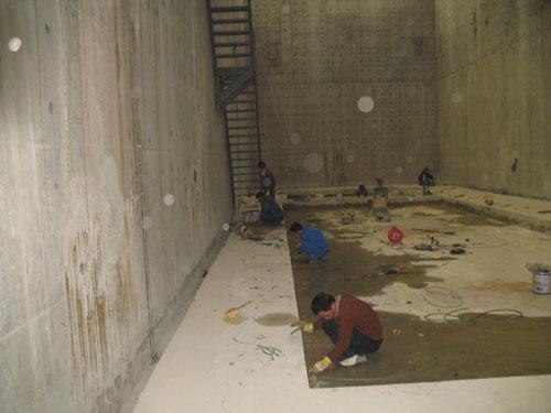 礦井巷道滲水堵漏