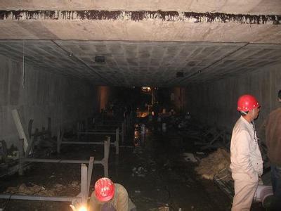输煤隧道渗水堵漏
