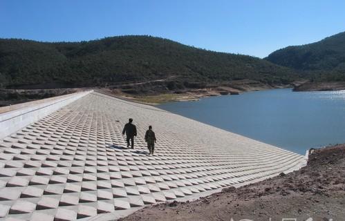 湖北水库混凝土大坝堵漏