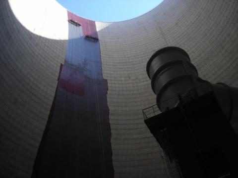 涼水塔堵漏工程