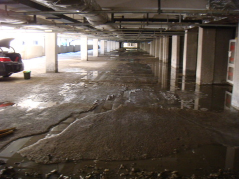 地下车库堵漏工程