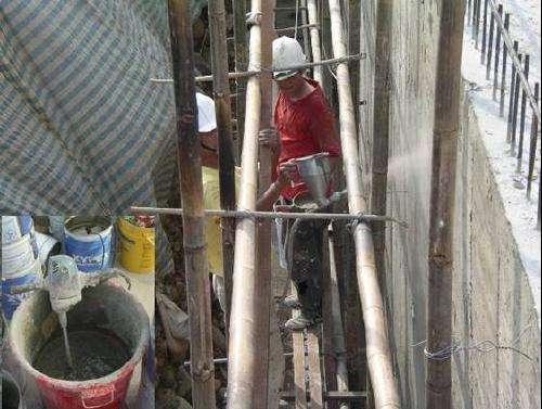 地下室防水堵漏工程