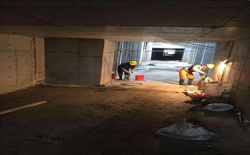 别墅地下室防水堵漏