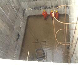 化工廠汙水池堵漏