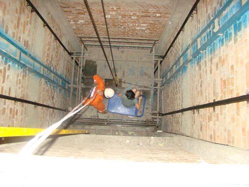 电梯井漏水堵漏
