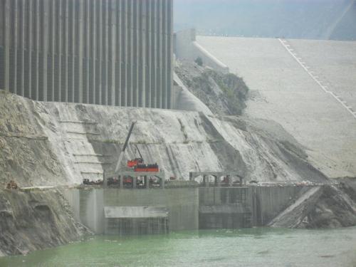 水库大坝堵漏