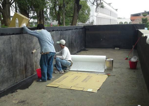 水池防水补�工程