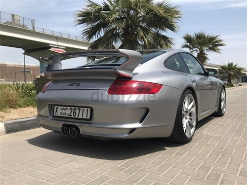 08保时捷997 GT3 银色