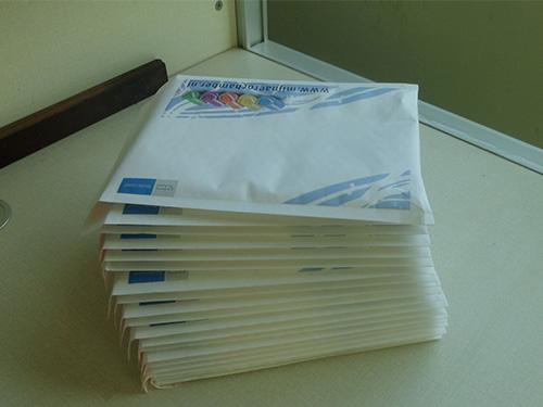 Printed kraft envelope bag