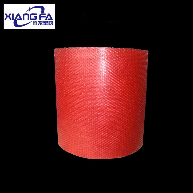 Red anti-static bubble film