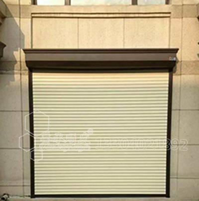 55型铝合金保温透视防盗卷帘窗