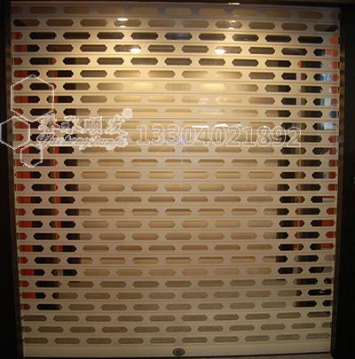 铝合金方孔卷帘门