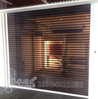 钢质透视卷帘门