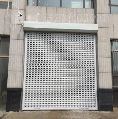 铝合金透视方孔卷帘门