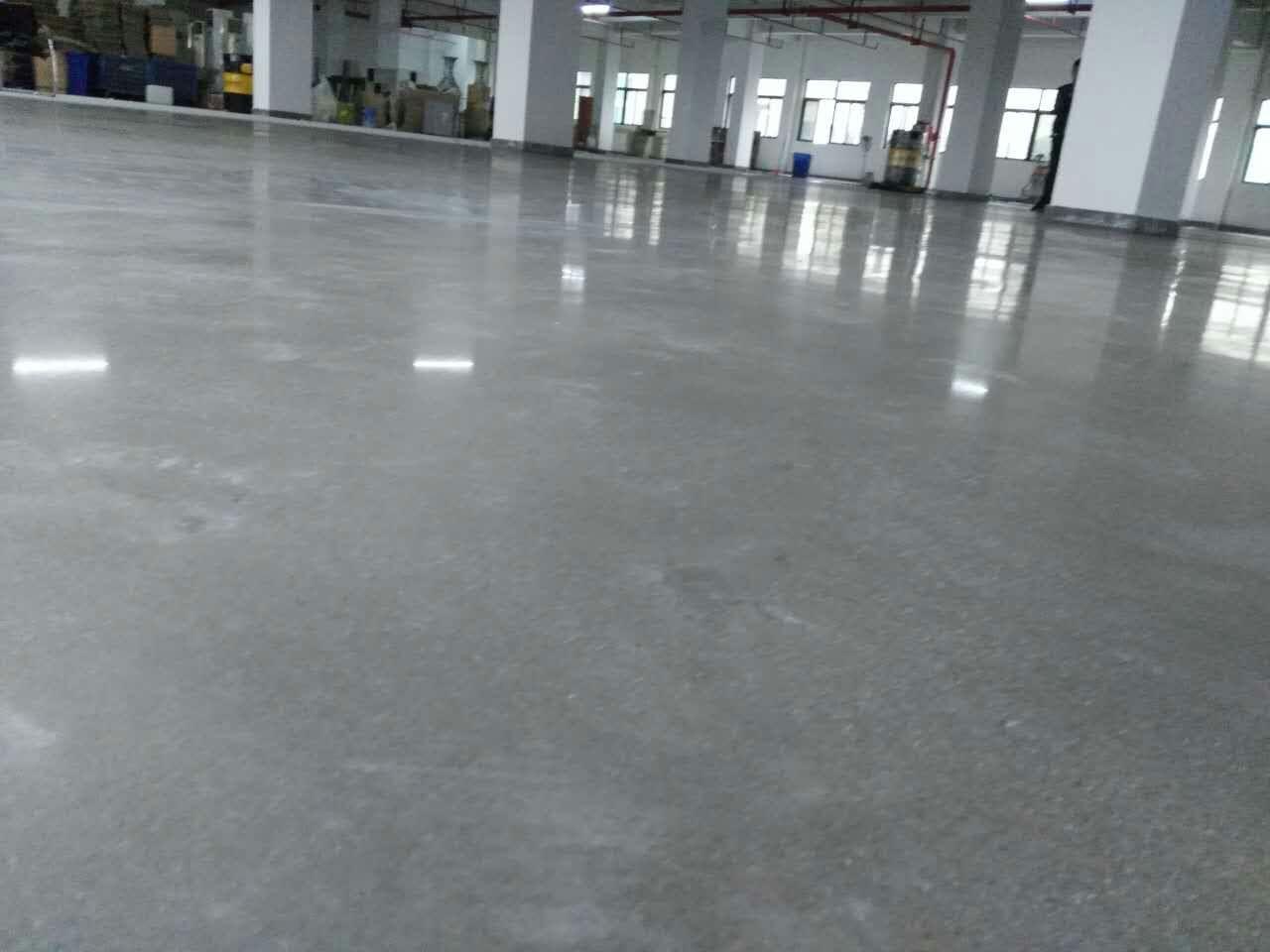 水泥硬化地坪处理