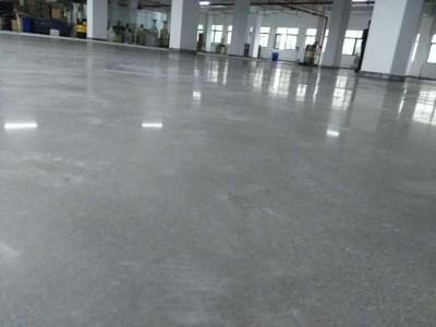 水泥地坪硬化施工