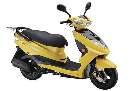 华威龙摩托车