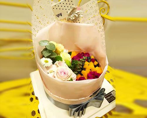 哈尔滨鲜花蛋糕