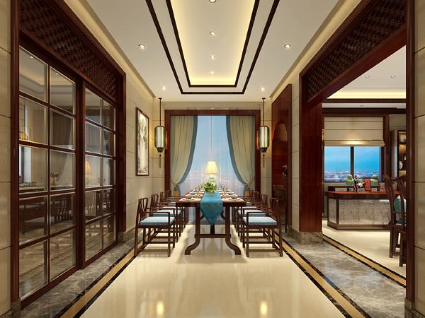 新中式風格餐廳