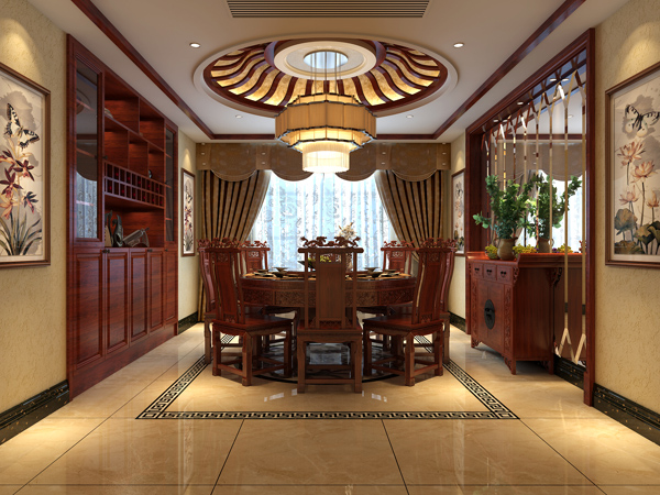 新中式餐厅