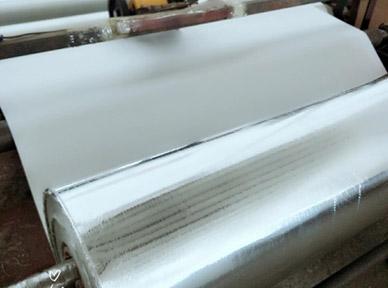 单面铝箔玻璃纤维布