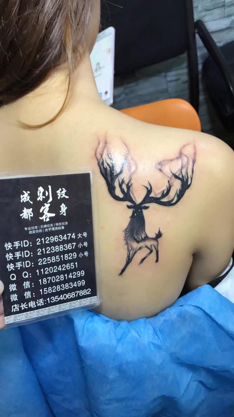 纹身作品展示