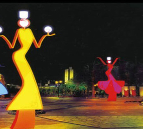 黑龙江路灯