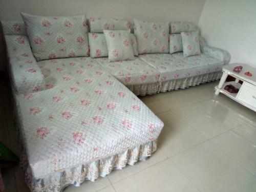 布艺沙发套制作