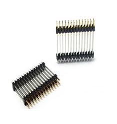 双排双塑排针-直脚-4-80PIN