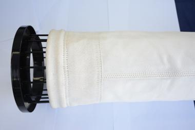 玻璃纤维膨体纱覆膜高温除尘滤袋