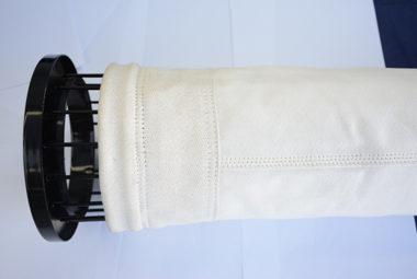 玻璃纤维膨体纱覆膜除尘滤袋