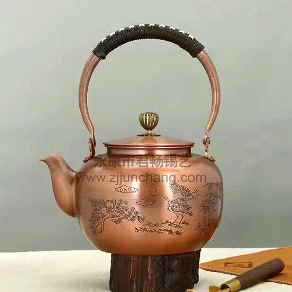 铜工艺品茶壶