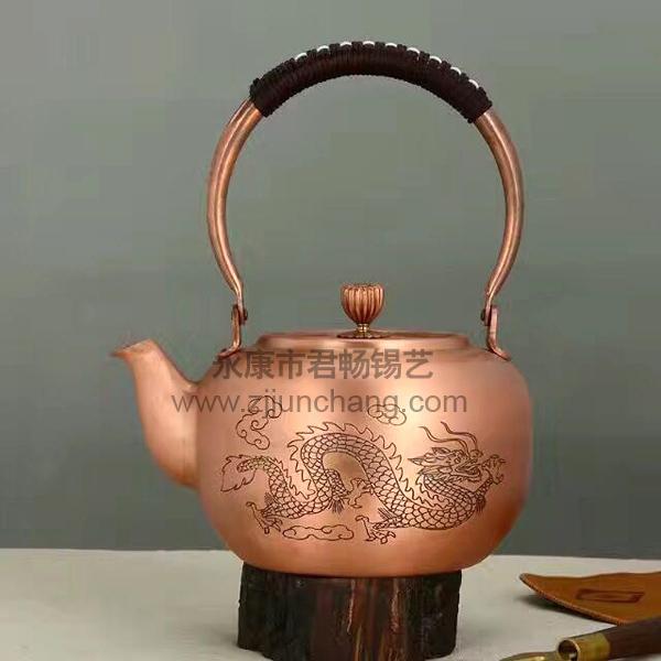 工艺品铜壶