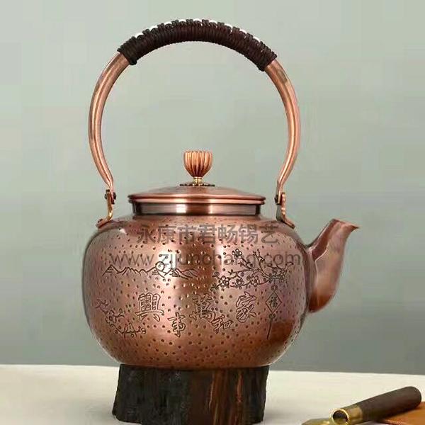 铜工艺品壶